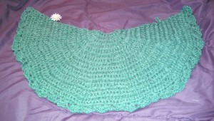 My daughter's shawl