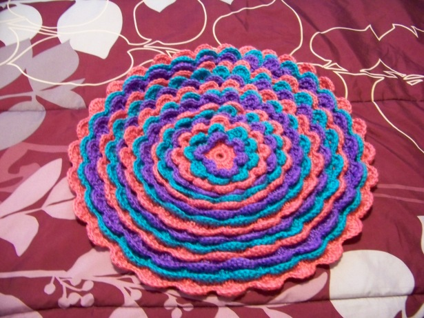 Blooming Flower Cushion  - Front
