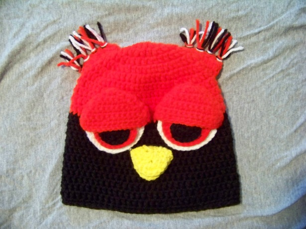 Not ANOTHER Owl Hat - Pattern developed by Rhondda Mol