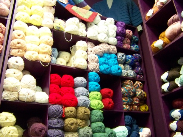 yarn and more yarn....