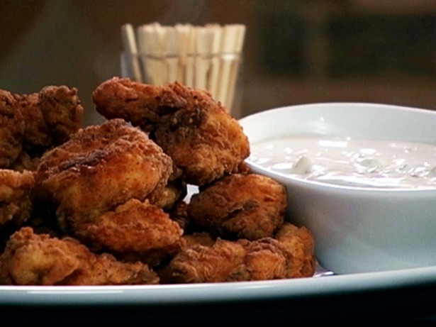 Spicy Fried Chicken Bites with Derby Dip - Photo courtesy of Food Network