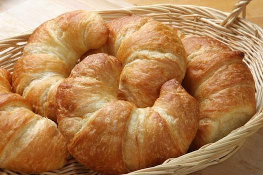 Croissants - Photo courtesy of Susie Norris