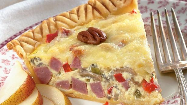 Wild Rice and Ham Country Tart - photo courtesy of Pillsbury.com