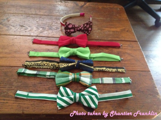 Bow ties by Ahesha James of Frosted Elements